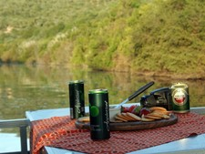 Amakhala Game Reserve Boating Refreshments
